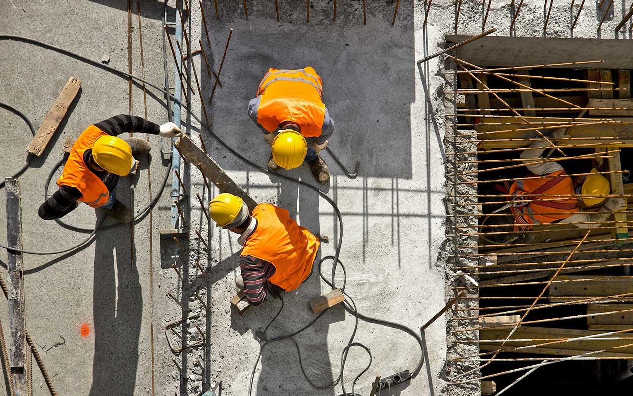 Les EPI sur les chantiers