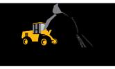 TP macadam logo spécialiste travaux publics, réseaux et canalisations